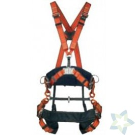 Boomsnoei-harnas DragonFly II, harnas met werkpositie gordel, buikomvang 76 - 118 cm
