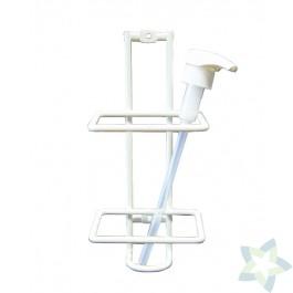 Dispenser en wandhouder t.b.v. 1 liter fles Ecowash Protect & Ecowash Creme
