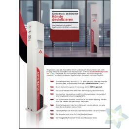 Ecostar Ecoflex-A Desinfectiezuil automatisch (Speciale prijs, OP=OP)