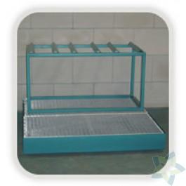 Vatenrek, gecoat staal (1100x500x150 mm)